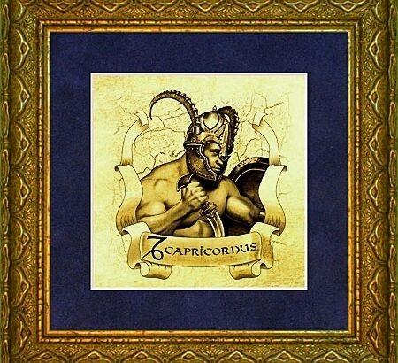 Картины из золота - знаки зодиака