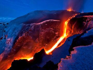 Вулканы в Исландии