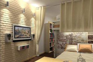 Белый кирпич в квартире