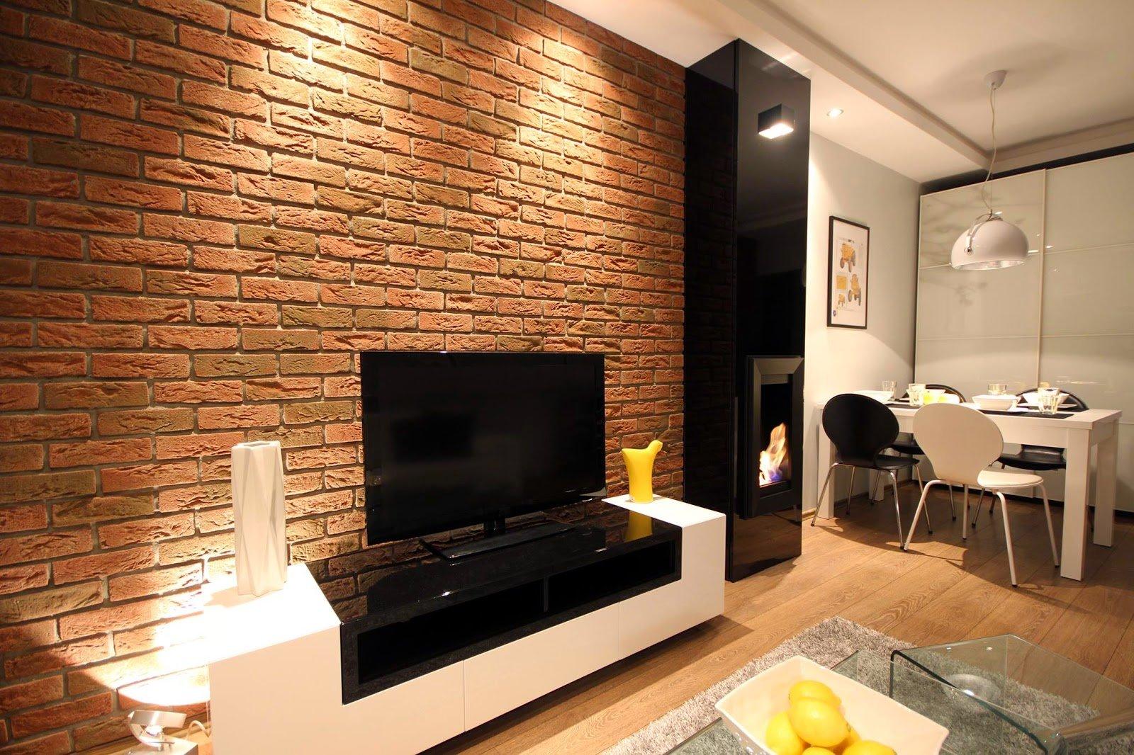 Использование декоративного кирпича в интерьере квартиры фото