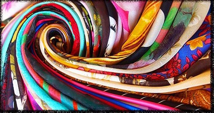 Красивые ткани для пошива одежды