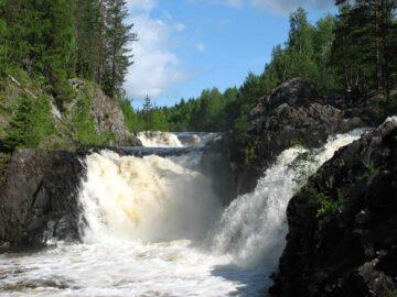 Карельские водопады