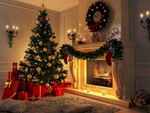 Украшаем елку к новому году