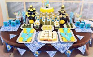 Готовим стол на детский день рождения