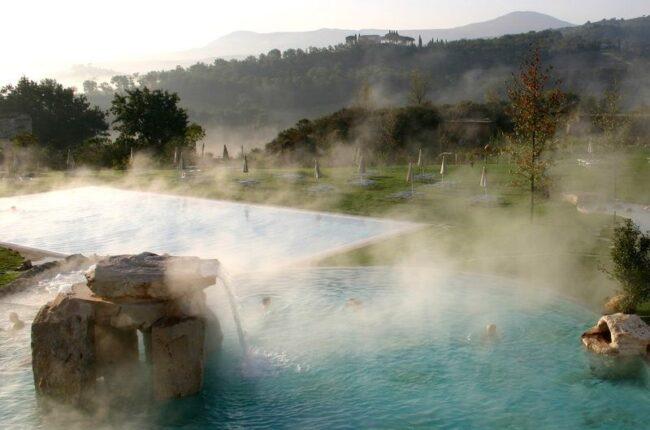 Термальный источник в Турции