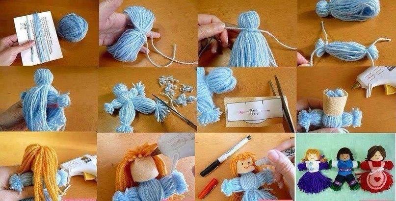 Для детей куклы своими руками