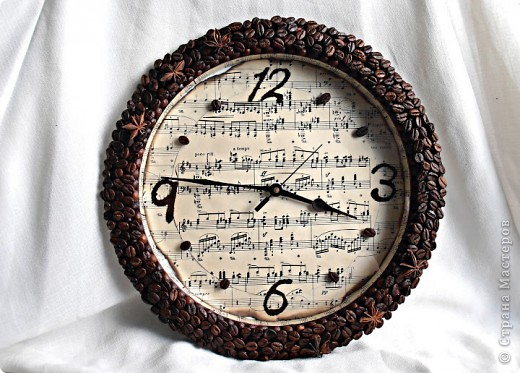 Часы из шпагата своими руками