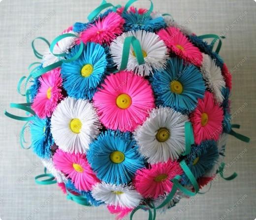 Шарики из цветов своими руками фото