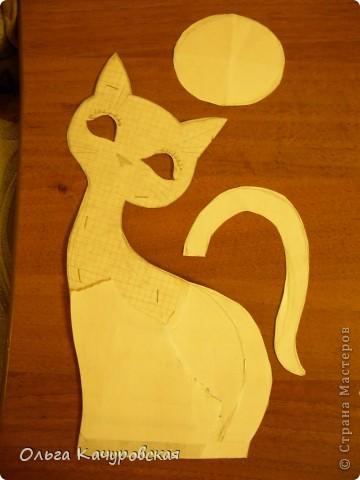 Кошка из ткани мастер класс