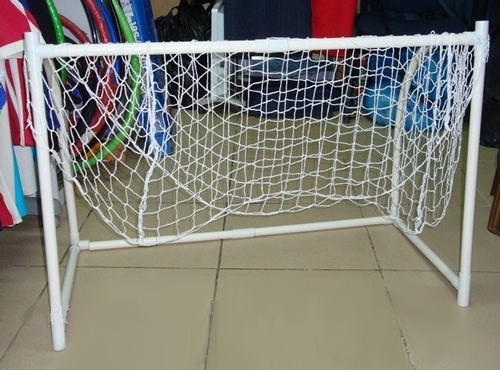 Хоккейные ворота своими руками из пластиковых труб