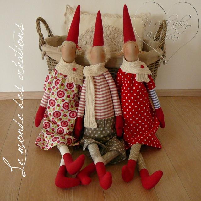 Скандинавские куклы своими руками 87