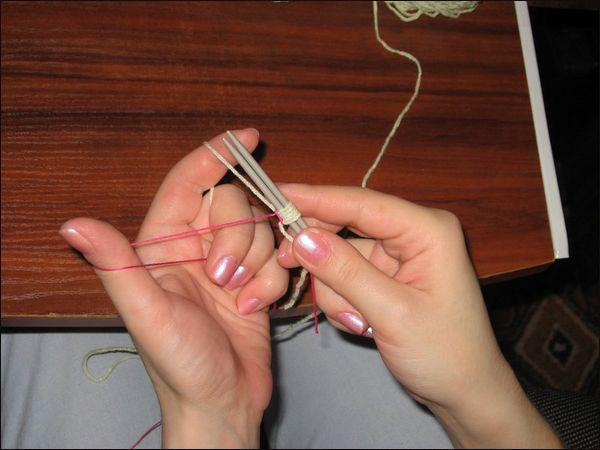 Вязание с эластичной нитью 48