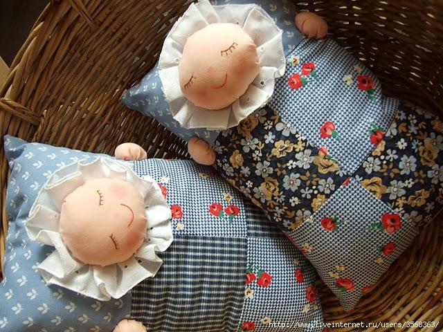 Подушки для девочек как сшить