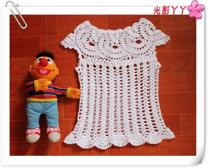 Вязание для девочек крючком майки 481