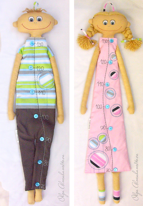 Текстильные куклы-ростомер. - mmodnaya.ru