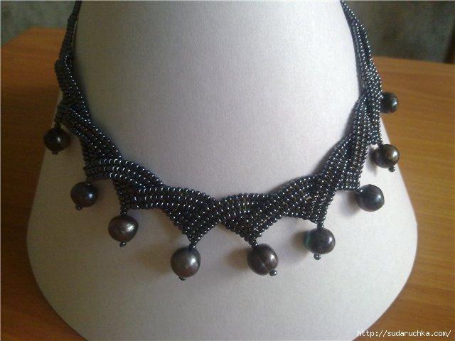 Мастер класс ожерелья из бисера своими руками