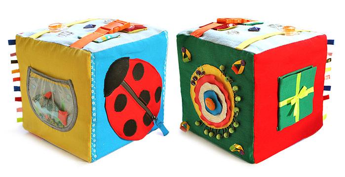 Кубики своими руками для малышей