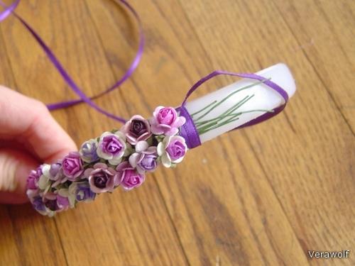 Обручи из цветов своими руками