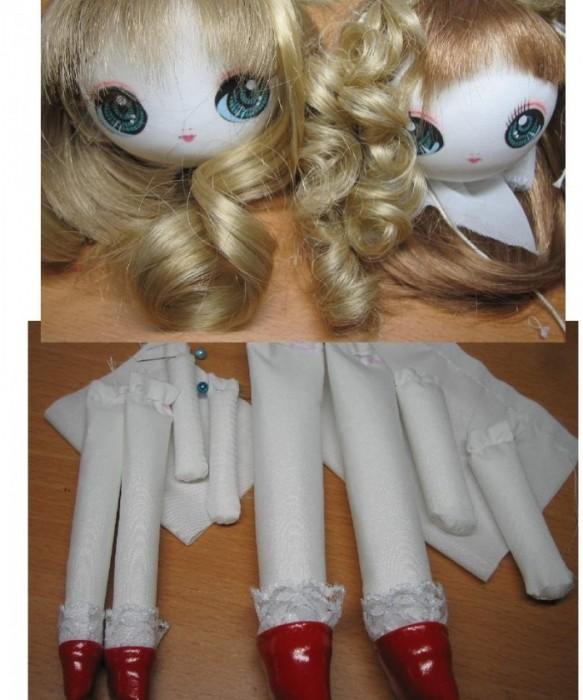 Красивая кукла своими руками фото