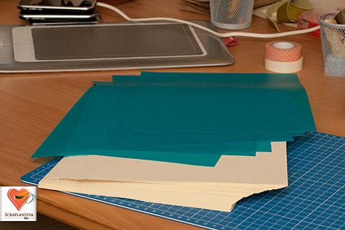 Блокнот из бумаги своими руками фото
