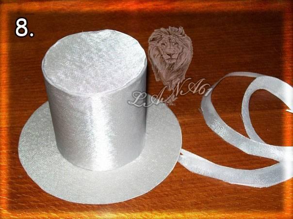 Как сделать мини шляпку из картона своими руками - TurnPike