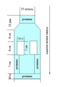 Вязание для чихуахуа с описанием