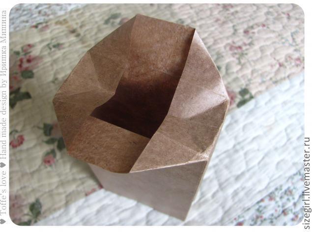 Пакет из крафт бумаги своими руками мастер класс