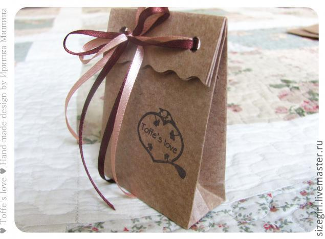 Упаковка пакеты своими руками