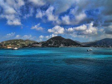 Карибский остров Сен-Мартен