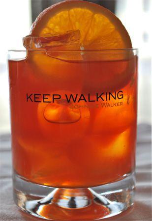 "Коктейль ""Keep walking"""