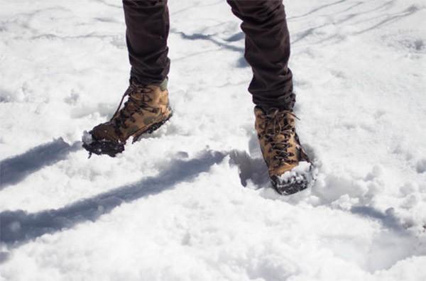 Теплые мужские ботинки