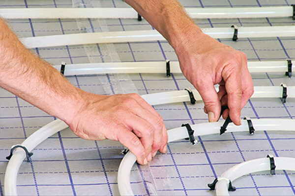 Технология укладки водяного пола под плитку