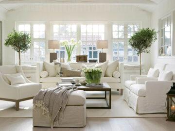 Как правильно оформить зал: цвета, мебель, декор
