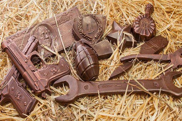 Как происходит изготовление шоколадных инструментов