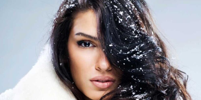 Сохраняем красоту волос зимой
