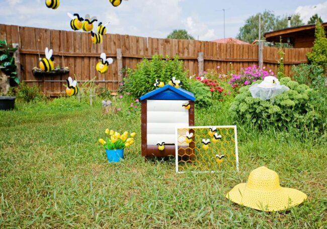 пчелки на участке